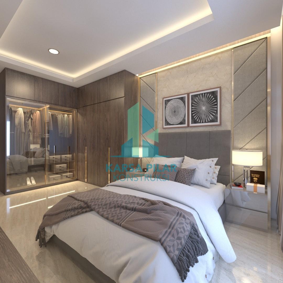 Master Bedroom Interior Design Karsa Pilar